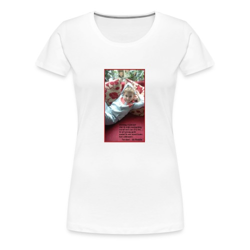 ZIWSQSsJ91xd - Vrouwen Premium T-shirt