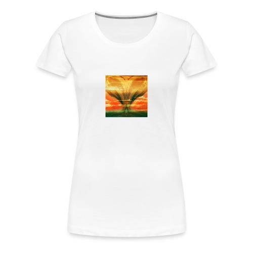 Faces in the Sky - Frauen Premium T-Shirt