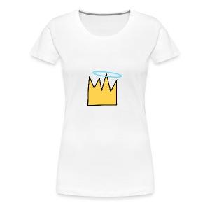 Crown Halo baby's - Vrouwen Premium T-shirt