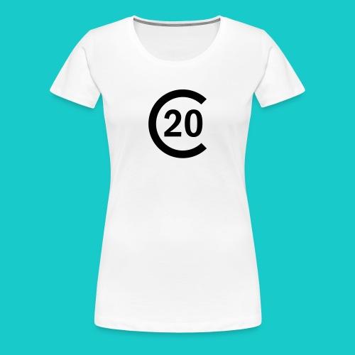 cal20 sailing class logo - Frauen Premium T-Shirt