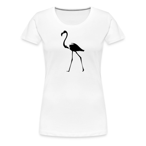 Flamingo #2 - Frauen Premium T-Shirt