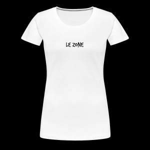 Le Zone Officiel - Dame premium T-shirt