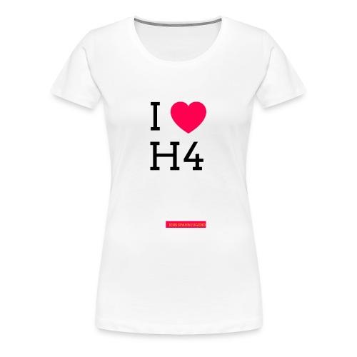 I ❤️ H4 - Frauen Premium T-Shirt