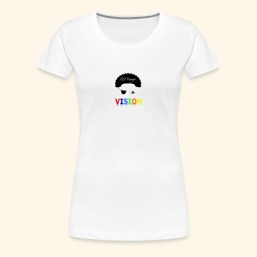 DJ Frango - Vision Track Artwork - Women's Premium T-Shirt