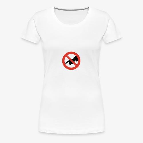 DO NOT TOUCH! - T-shirt Premium Femme