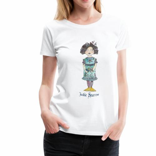 Lustiges Piratenmädchen - Frauen Premium T-Shirt