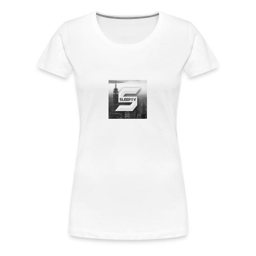 SleepTV Logo - Women's Premium T-Shirt