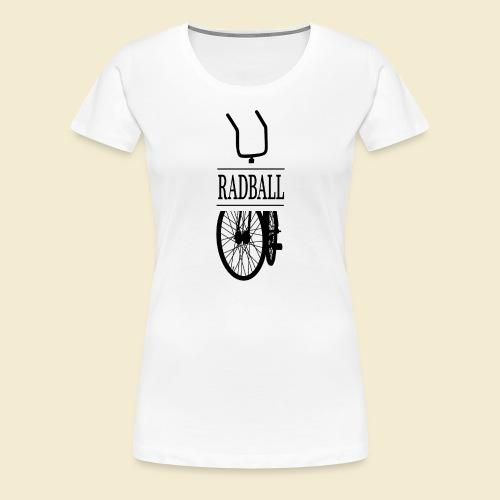 Radball | Retro Black - Frauen Premium T-Shirt