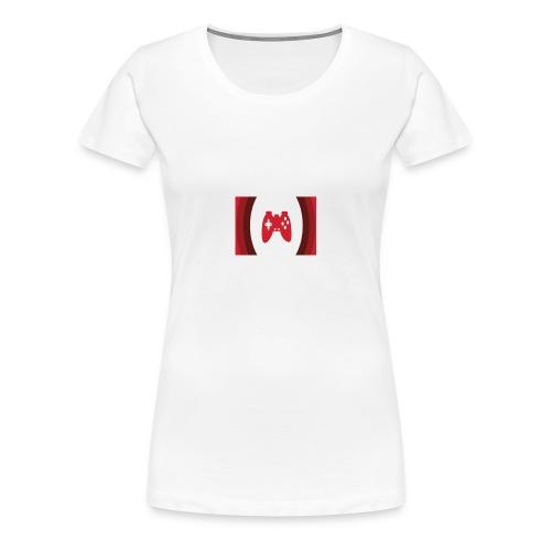 Tshirt - Player Youtube - Maglietta Premium da donna