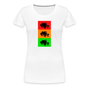 Retro Land-Rover - Women's Premium T-Shirt