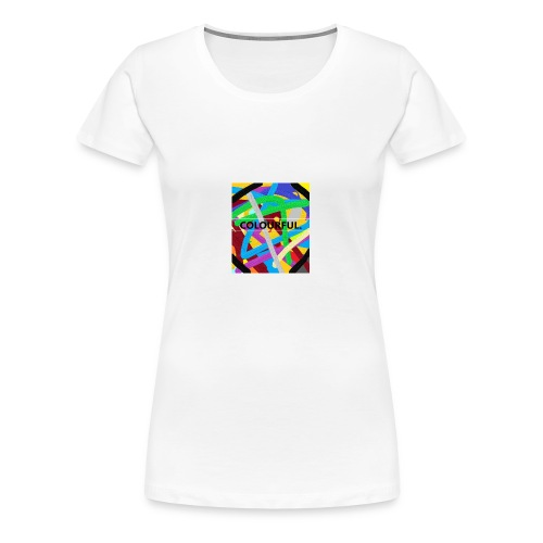 COLOURFUL - Frauen Premium T-Shirt