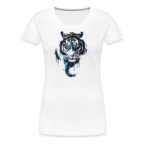 Blue Tiger - Premium Shirt - Frauen Premium T-Shirt