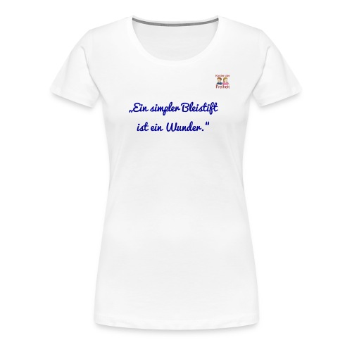 Bleistift 2 - Frauen Premium T-Shirt