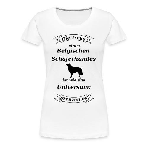 Belgischen Schaeferhundes Treue - Frauen Premium T-Shirt