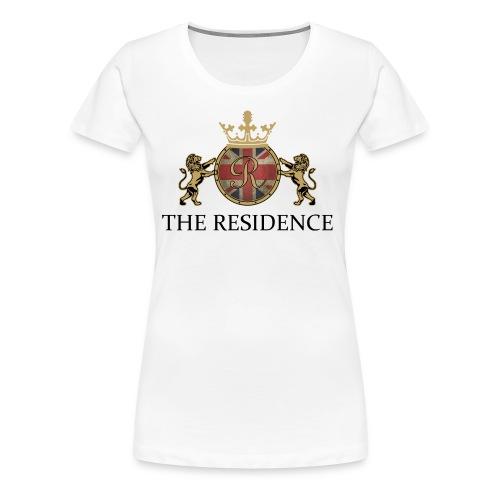 THE RESIDENCE LOGO BLACK - Frauen Premium T-Shirt
