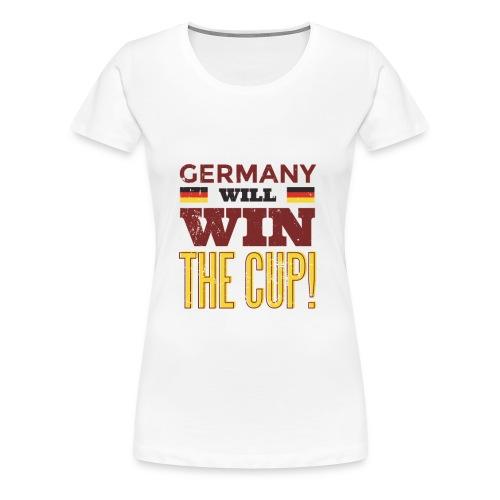 Ger2 russia2018 tshirthq 012 - Frauen Premium T-Shirt
