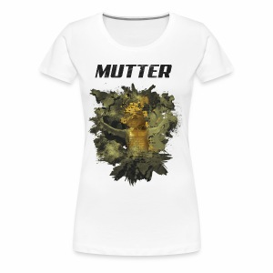 Mutter - Golden Grunge - Frauen Premium T-Shirt