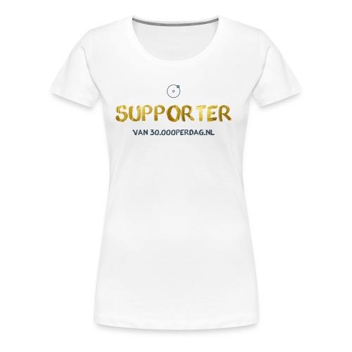 Suppor-t-shirt - Vrouwen Premium T-shirt