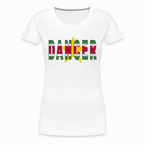 SURINAMESE DANCER - Women's Premium T-Shirt