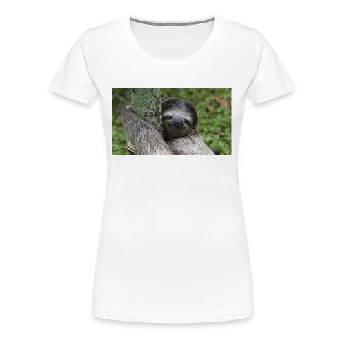 Luiaard - Vrouwen Premium T-shirt