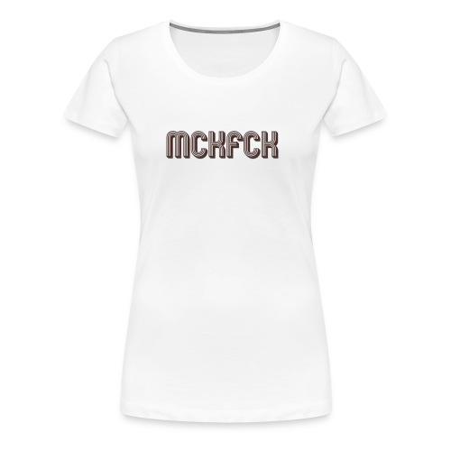 MCKFCK Logo - Frauen Premium T-Shirt