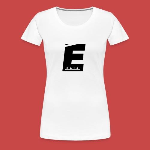 Elia Logo - Schwarz - Frauen Premium T-Shirt