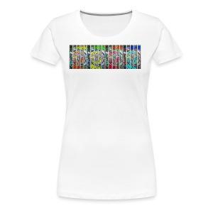 visage en prison 4FACES - T-shirt Premium Femme