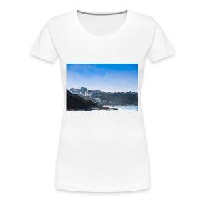 Côte Basque, brume et embruns. - T-shirt Premium Femme