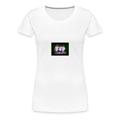 shirt with DutchKickerz NL - Vrouwen Premium T-shirt