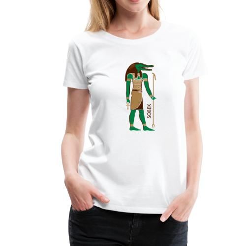 SOBEK God of Egypt - Frauen Premium T-Shirt