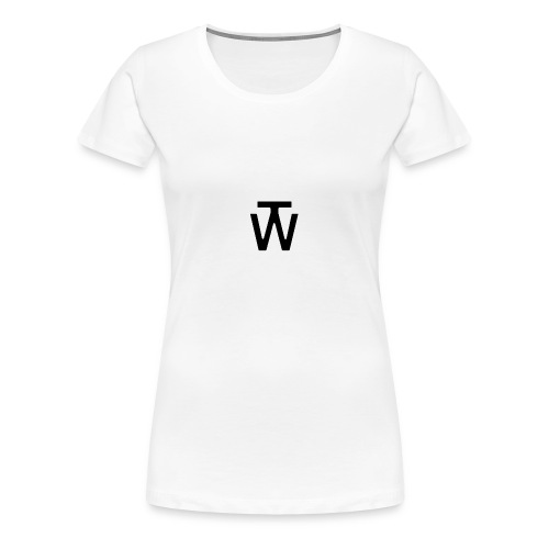 wt_site_logo-gif - Vrouwen Premium T-shirt