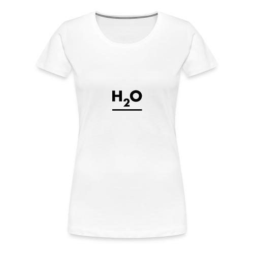H2O - Dame premium T-shirt
