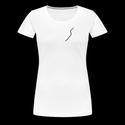 logo Style bleu - T-shirt Premium Femme