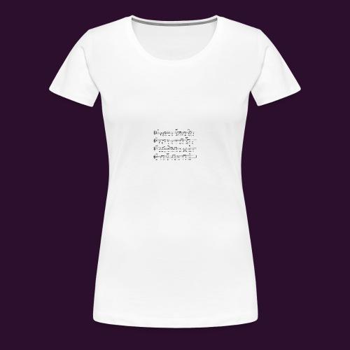 era_una_notte_che_piov-gif - Maglietta Premium da donna