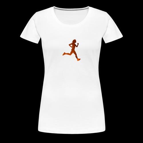 Run like it's Lava - Frauen Premium T-Shirt