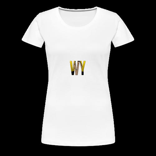 WaaromYannick Galaxy S6 Hoesje - WaaromYannick - Vrouwen Premium T-shirt