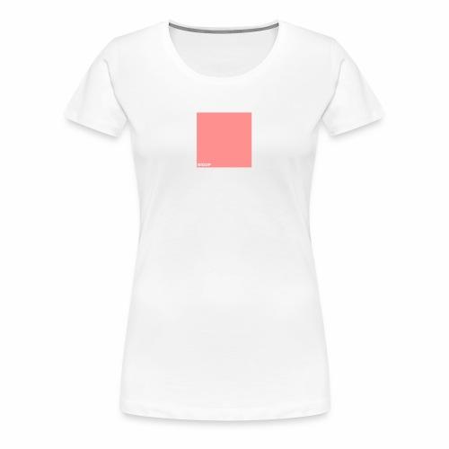 bigup wuerfel viereck quadrat geometrie minimal - Frauen Premium T-Shirt
