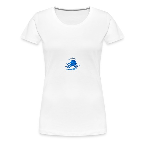 Octopus Testudo - T-shirt Premium Femme