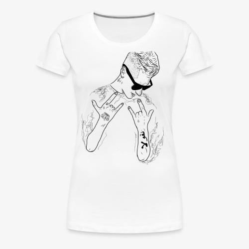 Rappresent Motiv Schwarz - Frauen Premium T-Shirt