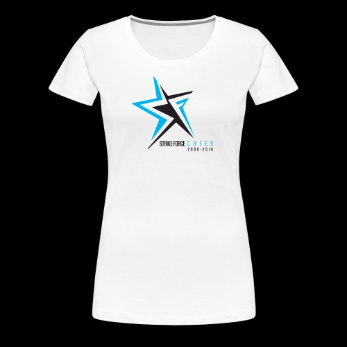 Strike Force 10 YR Logo 02 - Women's Premium T-Shirt