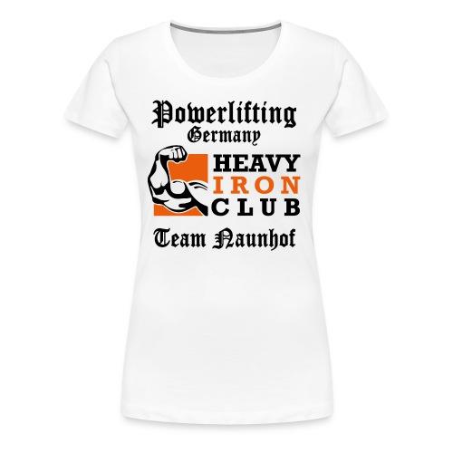 Heavy Iron Club Team-Logo für hellen Untergrund - Frauen Premium T-Shirt