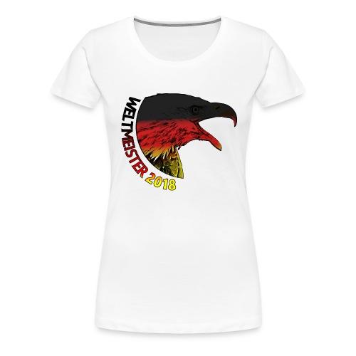 Deutschland Weltmeister 2018 Fußball WM Russland - Frauen Premium T-Shirt