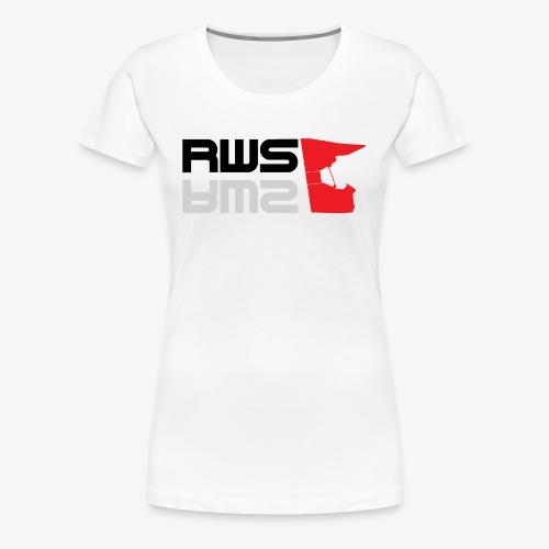 RWS logga - Premium-T-shirt dam