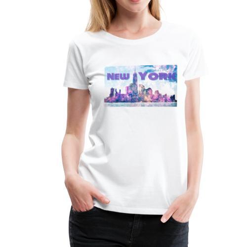 New York - Frauen Premium T-Shirt