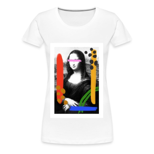 Mona Lisa by Anthony - T-shirt Premium Femme