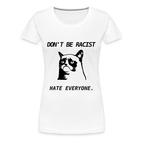 Grumpy Cat T-Shirt - Women's Premium T-Shirt