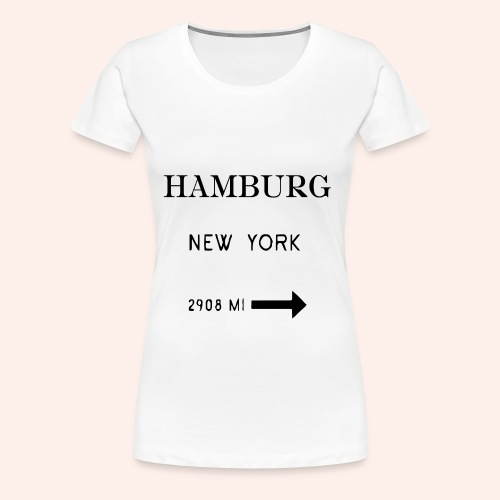 Hamburg Shirt - Frauen Premium T-Shirt