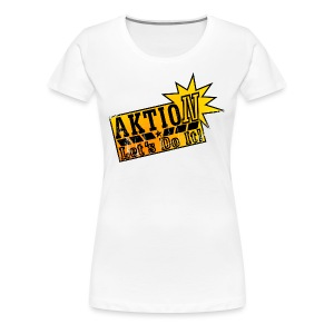 Aktion let 's do it! - Frauen Premium T-Shirt