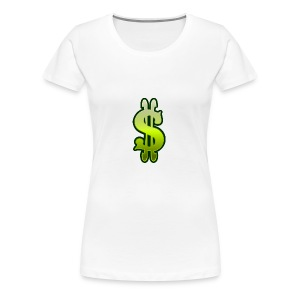 Cool DOLLER SIGN - Women's Premium T-Shirt