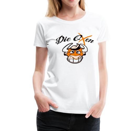 Die Oxen Logo 1 - Frauen Premium T-Shirt